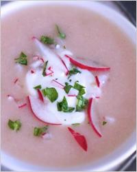 Суп из редиса