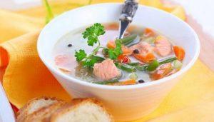 Суп из свежей горбуши